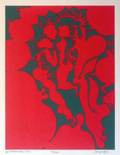 Jan Dobkowski, Serigrafia (71/100), 2003