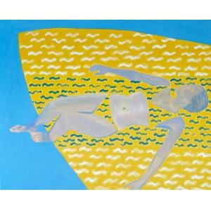 Jolanta Johnsson (ur. 1955), Żółta łódź, 2021