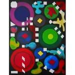 Andrzej Grabowski (ur. 1962), Colorful dreams, 2021