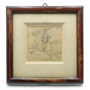 Jan MATEJKO (1838 - 1893), Jeździec na koniu