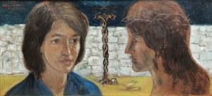 Wlastimil HOFMAN (1881-1970), Ściana płaczu, 1963