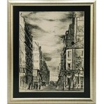 Mojżesz KISLING (1891-1953), Motyw z Montparnasse [Rue de la Gaité]