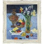 Jan SZANCENBACH (1928-1998), Martwa natura z samowarem, 1996