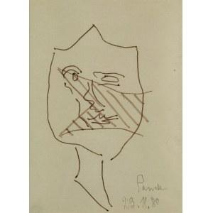 Jerzy PANEK (1918-2001), Twarz, 1980