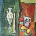 Ryszard WOŹNIAK, XX w., Kompozycja z dzbanem, 1990