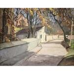 Jan WOŁEK (ur. 1954), Uliczka w miasteczku