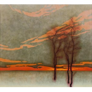 Dawid Zdobylak (ur. 1993), Drzewa na polu, 2021