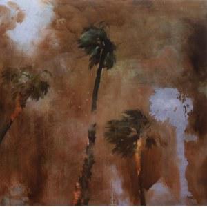 Aleksander Baszynski (ur. 1993), Four palm trees, 2020