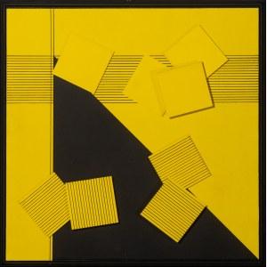Marcin LUBERA (ur. 1983), Kompozycja z trójkątem w tle, 2021