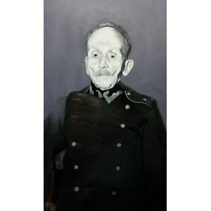 Piotr Mosur, Portret Walentego Milczarskiego, weterana powstania styczniowego