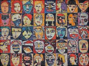 Krzysztof Pająk, Kolekcjonerzy, twarze i maski, 2004