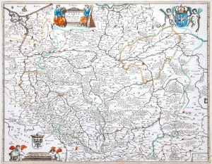 Nicolas Berey, Carte de Pologne et des estats qui en dépendent