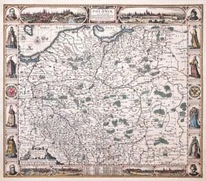 Claes Janszoon Visscher, Abraham Goos, Haec Tabula nova Poloniae et Silesiae