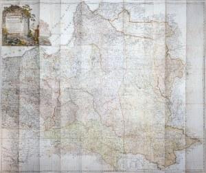 Daniel Friedrich Sotzmann, Grenzkarte der Preussischen Russischen und Oestereichischen Monarchen in XVI Blattern