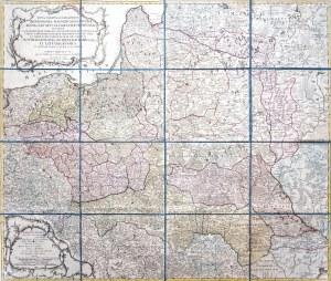 Georg Friederich Uz, Nova Mappa Geographica Regni Poloniae
