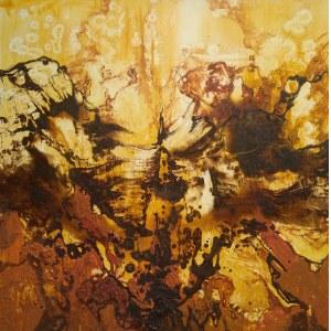 Anna Świtalska-Jończyk, Żółty obraz - Rozkwit