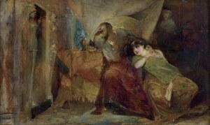 Gottlieb Maurycy, ZYGMUNT AUGUST I BARBARA GIŻANKA, OK. 1874