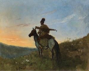 Brandt Józef, KOZAK NA PATROLU, 1874