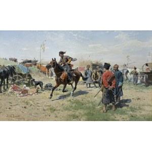 Brandt Józef, ZAPOROŻCY, OK. 1885-1890