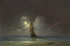 Ajwazowski Iwan Konstantinowicz, MORSKI NOKTURN, 1844