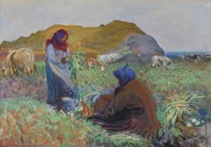 Wyczółkowski Leon, KOPANIE BURAKÓW, 1912