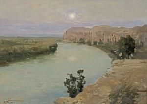 Trusz Iwan, WIECZÓR NAD JORDANEM, LATA 20. XX W.