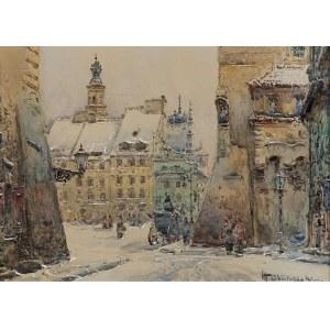 Chmieliński (Stachowicz) Władysław, WIDOK NA RYNEK STAREGO MIASTA, PRZED 1939