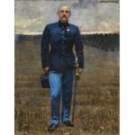 Malczewski Jacek, PORTRET OFICERA, 1899