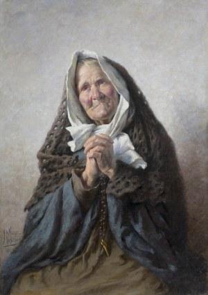 Reyzner Mieczysław, MODLITWA, 1893
