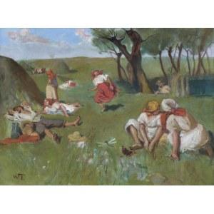 Tetmajer Włodzimierz, ODPOCZYNEK PRZY SIANOKOSACH, PO 1910