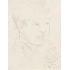 Makowski Tadeusz, PORTRET CHŁOPCA, OK. 1926