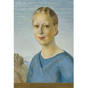 Sleńdziński Ludomir, PORTRET AMELII BRZOZOWSKIEJ, 1939