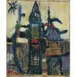 Ziemski Rajmund, PEJZAŻ, OK. 1957 - 58