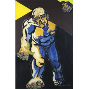 """Czapla Marian, CYRENEJCZYK, Z CYKLU """"ECCE HOMO"""", 1993"""