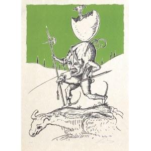 """Dali Salvador, Z TEKI """"ZABAWNE SNY PANTAGRUELA"""", 1973"""