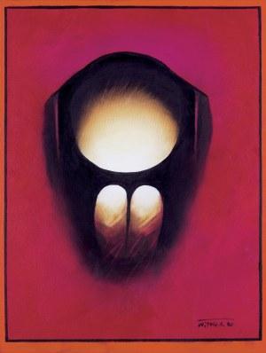 """Witold-K., Z CYKLU """"SAMOTNOŚĆ"""", 1990"""