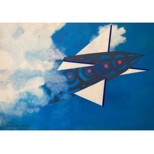 Maciej MAJEWSKI, Zeppelin was here, Open Sky Project, 2021