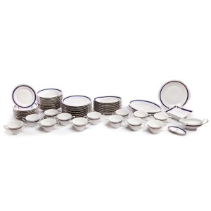 Serwis obiadowy (64 elementy) - Zakłady Porcelany Stołowej Ćmielów