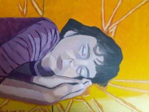 Anna Van Brussel, Śpiąca niewinność, 2020