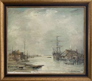 Marian Mokwa ( 1889 - 1987), Port , lata 40 XX w.