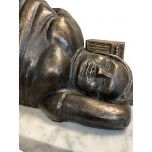 Jerzy Duda-Gracz ( 1943 - 2004 ), rzeźba według obrazu Jerzego Dudy-Gracza