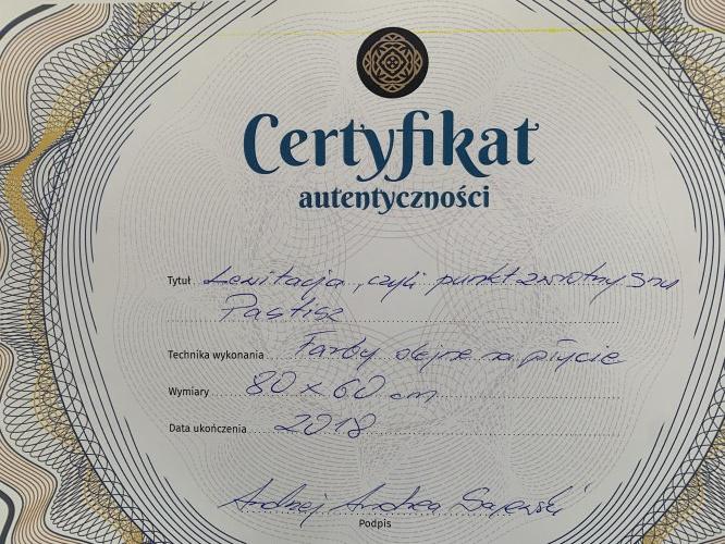 Andrzej Andrea Sajewski ( 1957 ), Lewiatacja czyli punkt zwrotny snu, 2018