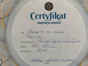 Andrzej Andrea Sajewski ( 1957 ), Song to the Siren, 2018