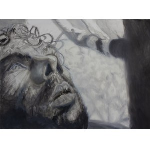 Norman Leto ( 1980 ), Bez tytułu (męski portret), 2020