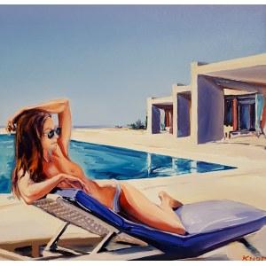 Rafał Knop ( 1970 ), Z cyklu: Swimming Pool - Madame V Angel'07, 2020