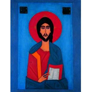Jerzy Nowosielski (, Chrystus Pantokrator z teki Bogurodzica