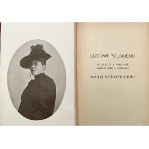 Marya Konopnicka, Wybór pism