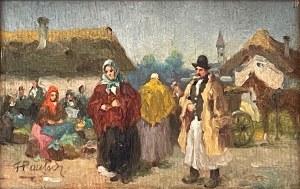 Pautsch Fryderyk(1877-1950), Na targu