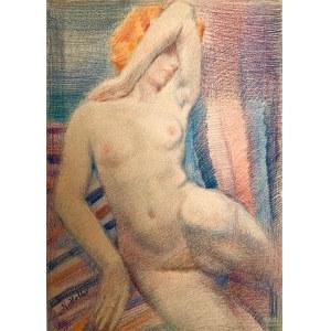 Kazimierz Wiktor Holler(1881-1975), Akt kobiecy