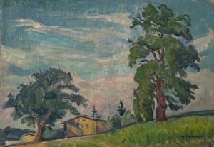 JAN BEDNARSKI(1891-1956), Pejzaż z Południa Francji